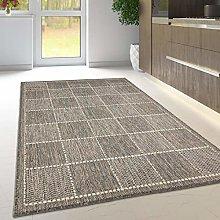 Viva Rugs Grey Rug Non Slip Kitchen Living Room