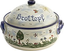Vivapollo original bread pot, bread box, wester