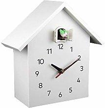 Vivid Large Cuckoo Clock - White