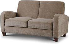 Vivo 2 Seater Sofa in Mink Chenille