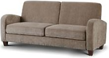 Vivo 3 Seater Sofa in Mink Chenille