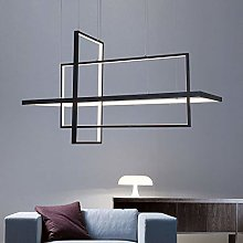 VIWIV LED Chandelier Nordic Geometric Three Heads