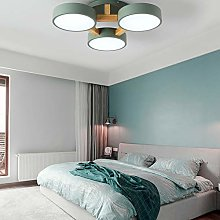 VIWIV LED Wooden Ceiling Light, Three Head Acrylic