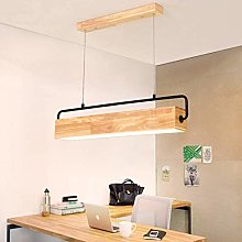 VIWIV Modern Wood Chandelier Restaurant Lights LED