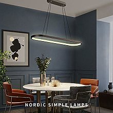 VIWIV Nordic style Simple LED Pendant Light Oval