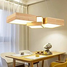 VIWIV Wood Lamp Dimmable LED Lamp Chandeliers
