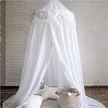 VJRQM Cotton Baby Canopy Mosquito Net Anti