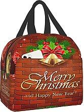 VJSDIUD Reusable Cooler Lunch Bag Decorations Red