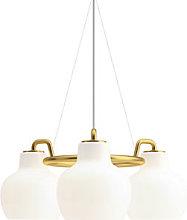VL Ring Crown Pendant - / 3 lampshades - Ø 55 cm