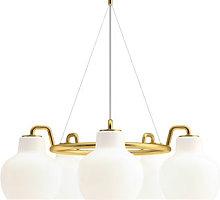 VL Ring Crown Pendant - / 5 lampshades - Ø 69 cm