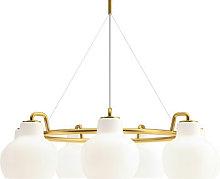 VL Ring Crown Pendant - / 7 lampshades - Ø 89 cm