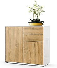 Vladon Cabinet Chest of Drawers Ben, Carcass in