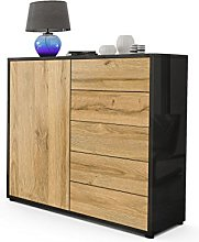Vladon Cabinet Chest of Drawers Ben V2, Carcass in