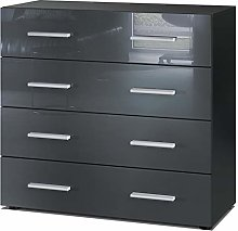Vladon Chest Drawers Cabinet Pavos, Carcass in