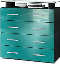 Vladon Chest Drawers Cabinet Pavos V2, Carcass in