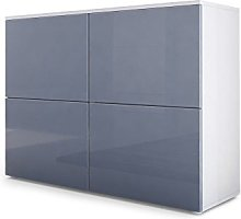 Vladon Chest of Drawers Cabinet Rova, Carcass in