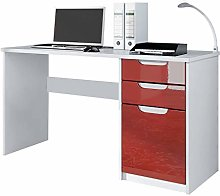 Vladon Desk Bureau Office Furniture Logan, Carcass