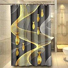 Vlejoy Style Classical Printing Bathroom Grey