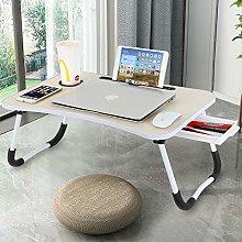 VLikeze Laptop Desk with Storage Drawer, Portable