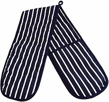 VLOU Cotton Double Oven Gloves Stripe Pot Holder
