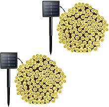 Vmanoo Solar Outdoor String Christmas Lights 72Ft