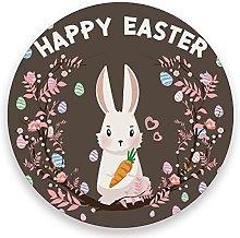 Vnurnrn Easter Rabbit Bunny Egg Flower Brown