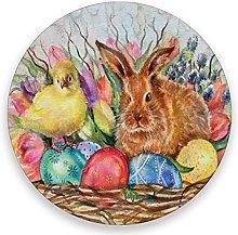 Vnurnrn Vintage Easter Rabbit Chick Egg Bunny