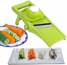 Voarge Manual Food Slicer, Vegetable Slicer, 3 in