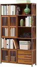 Vobajf Bookcases Bookshelf Storage Floor Simple