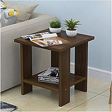 Vobajf Coffee Table Wood Small Coffee Table Desk