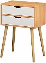 Vobajf Nightstand Bedroom Furniture Home Table