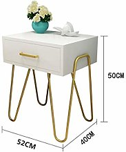 Vobajf Nightstand Modern Accent Bedside Table Sofa