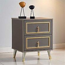 Vobajf Nightstand Simple Modern Bedside Table