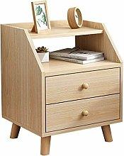 Vobajf Nightstand Storage Cabinet Bedroom