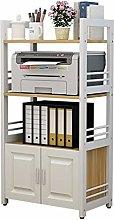 Vobajf Printer Stand Printer Rack Office Floor