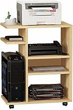 Vobajf Printer Stand Printer Shelf Multi-layer