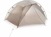 Vobajf Tent 2 Man Camping Tent Nylon Silicone