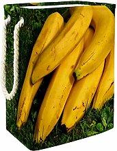 Vockgeng Yellow Fruit Banana Baby Laundry Basket