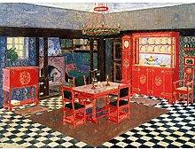 Vogeler Dining Room Design Painting Large Wall Art