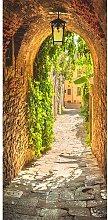 Vogt Alley in Italy Door Wall Mural Brayden Studio