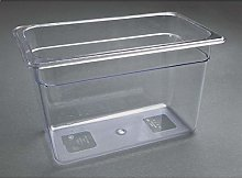 Vogue 1/3 Gastronorm Container 200mm 7 Litre Clear