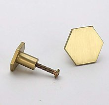 Vogueing Tool Round Knobs Handle, 2pcs Brass Knobs