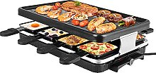 Vogvigo 1300W Raclette Table Grill Electric Korean