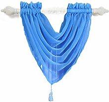 Voile Curtain Swags Valance Net Curtains Pelmet
