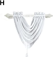 Voile Curtain Swags Window Hanging Curtains