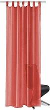 Voile Curtains 2 pcs 140x175 cm Red QAH01457 -