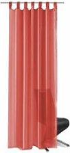 Voile Curtains 2 pcs 140x245 cm Red QAH01459 -