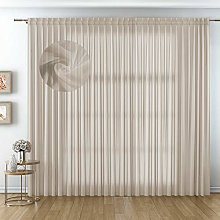Voile Curtains for Home Furnishing Elegant, Made