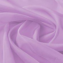 Voile Fabric 1.45x20 m Lilac QAH01464 - Hommoo