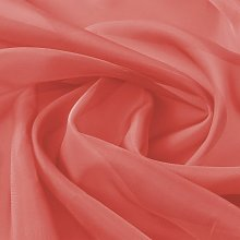 Voile Fabric 1.45x20 m Red QAH01467 - Hommoo